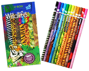 obon-animal-colored-pencils